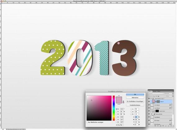 Postkarte Neujahrsgrüße (16a)