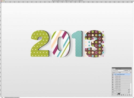 Postkarte Neujahrsgrüße (18a)