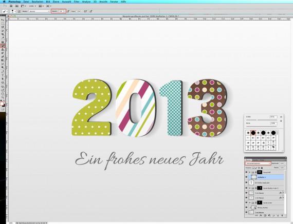 Postkarte Neujahrsgrüße (21)
