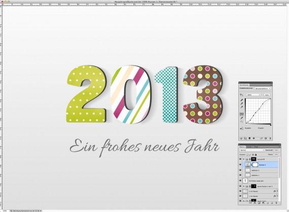 Postkarte Neujahrsgrüße (23)