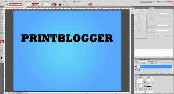 Eisschrift Photoshop (2)