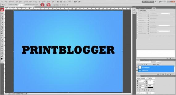 Eisschrift Photoshop (3)