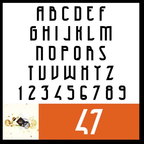 47 Font