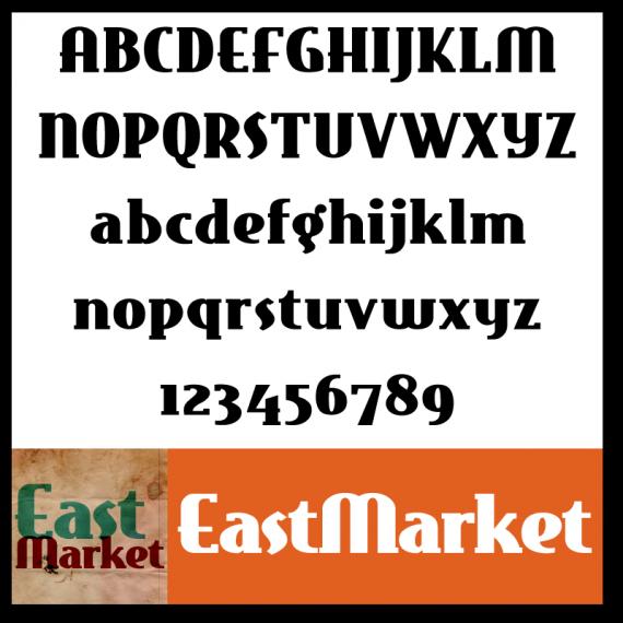 EastMarket Font