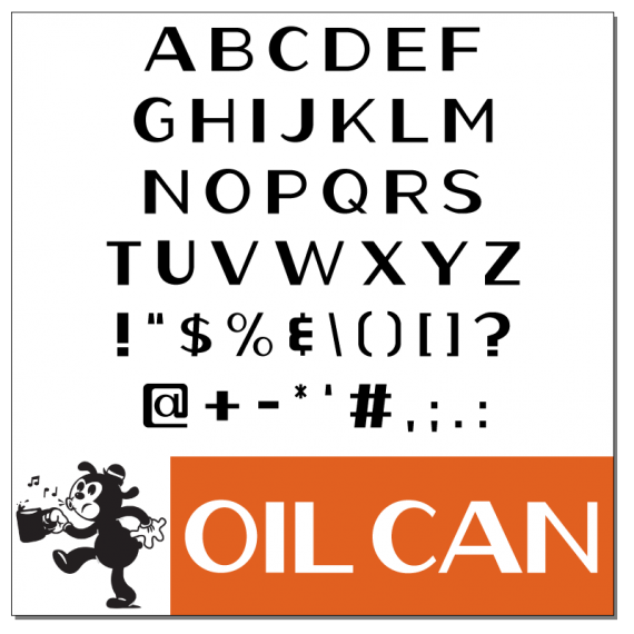 Oil-Can Font