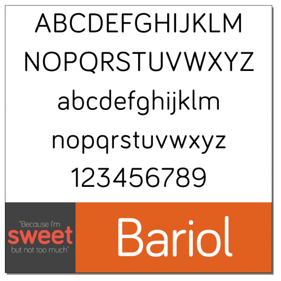 Bariol Font