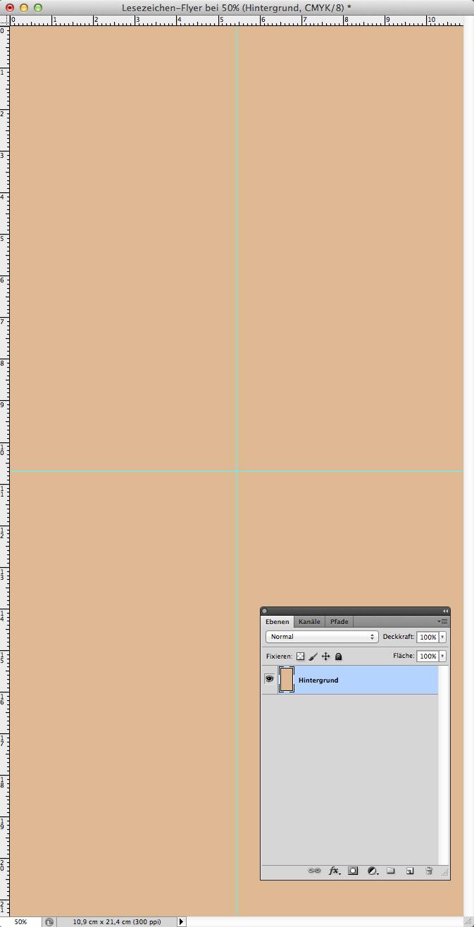 Lesezeichen-Flyer mit Zitat in Photoshop erstellen » Saxoprint-Blog