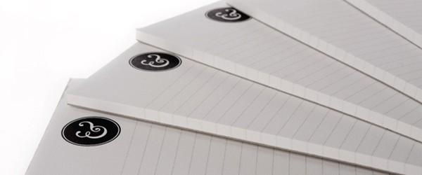 Die 50 besten Schreibblock-Designs und Vorlagen 2013