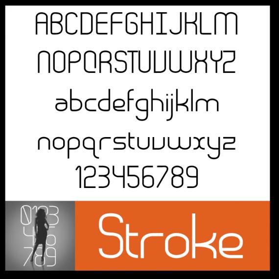 Stroke Font