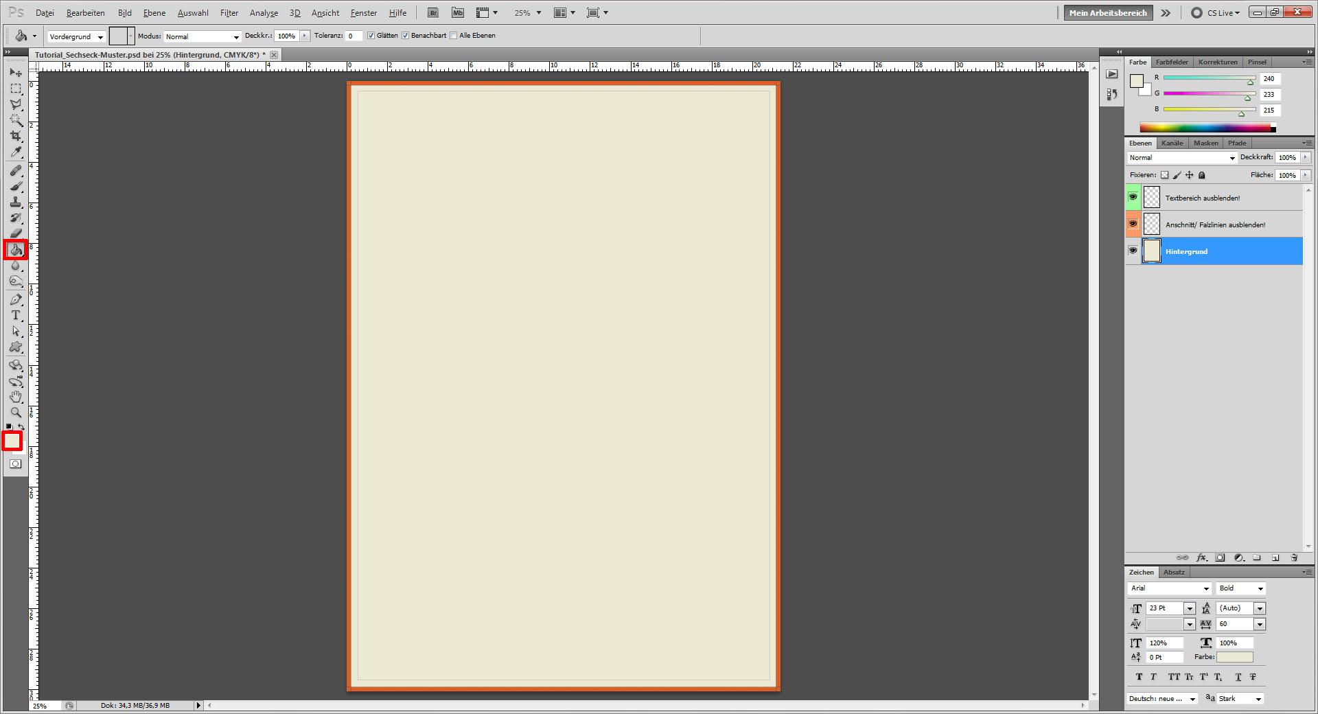 Tutorial: Cover mit Sechseck Muster gestalten » Saxoprint-Blog