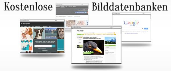 Freie Bilder aus kostenlosen Bilddatenbanken