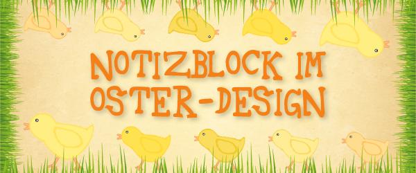 Freitagstutorial: niedliches Notizblock-Design gestalten