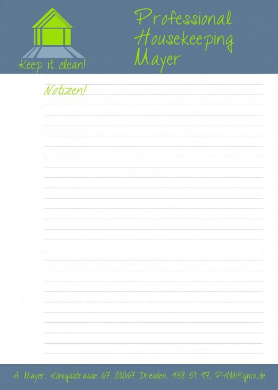 Schreibblock selbst gestalten (1)