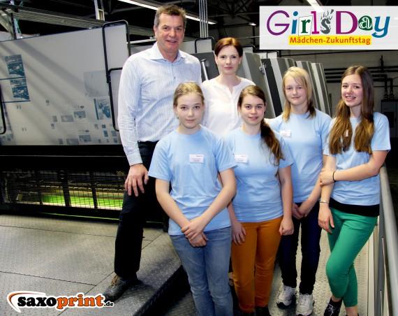 Girls Day Saxoprint