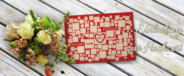 Tutorial Individuelle Hochzeitskarten Selbst Gestalten Saxoprint Blog