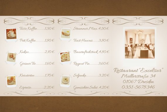 Tutorial Restaurant Karte / Speisekarte erstellen (17)