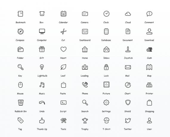 kostenlose Icons und Grafiken Vektor (2)