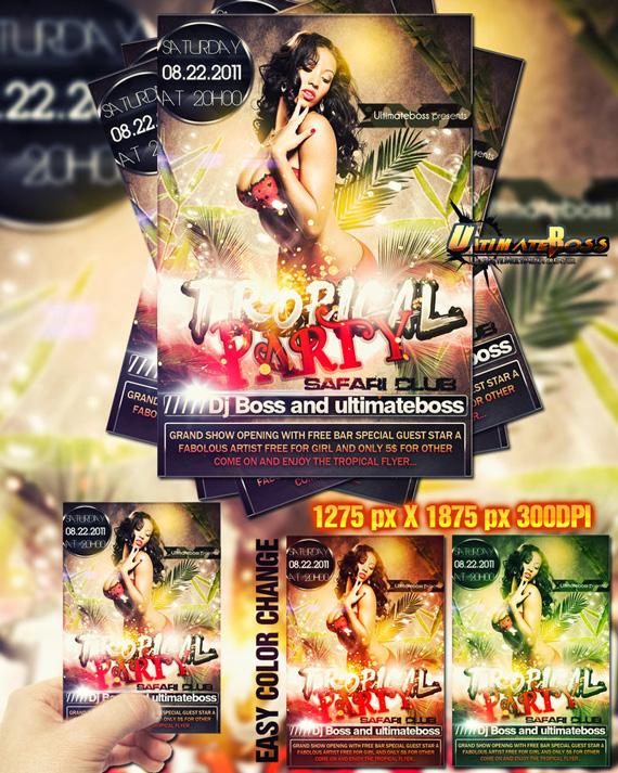 Photoshop Vorlagen für euren Party-Flyer (20)