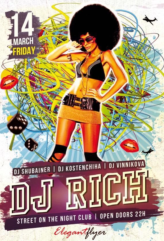 Photoshop Vorlagen für euren Party-Flyer (49)