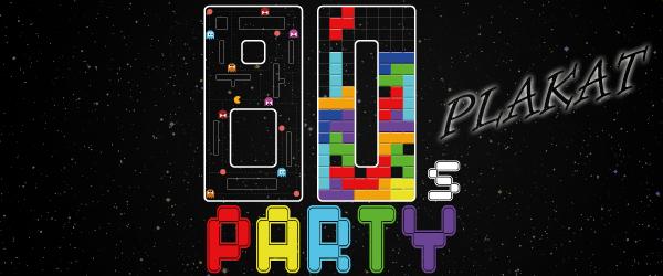 Freitagstutorial: 80er Jahre Party-Plakat gestalten