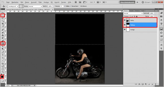 Plakat für ein Motorrad Treffen (2)