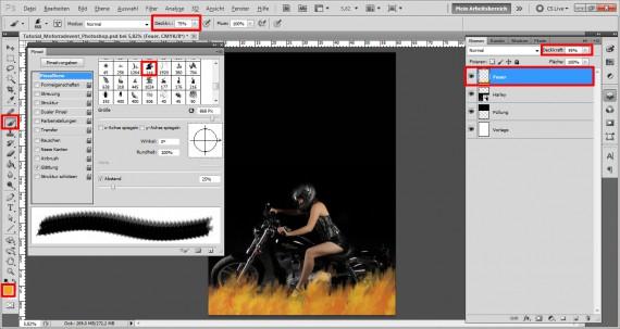 Plakat für ein Motorrad Treffen (3)