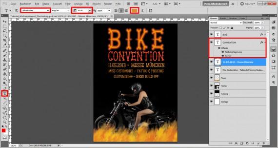 Plakat für ein Motorrad Treffen (7)