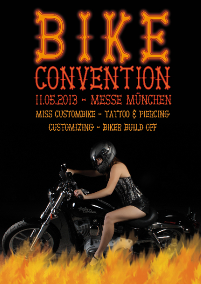 Plakat für ein Motorrad Treffen (9)