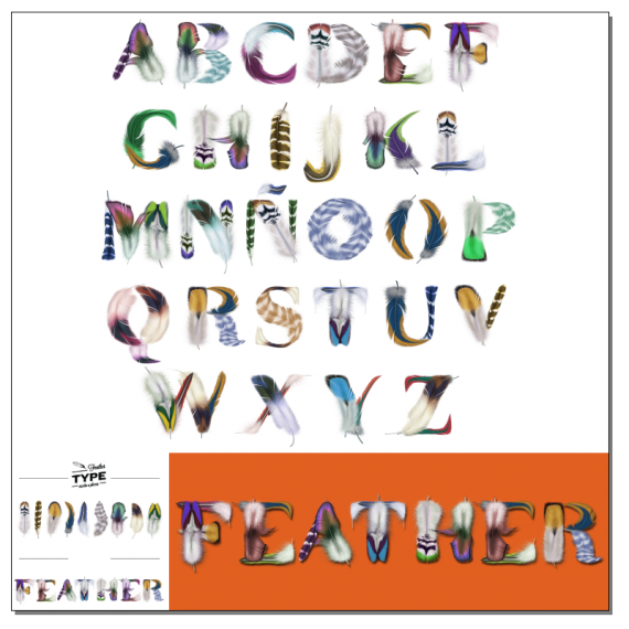 FeatherType Font