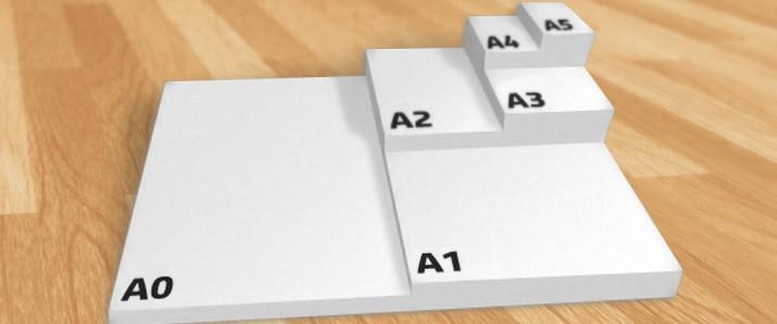 Das große Verzeichnis der Papierformate nach DIN-Norm