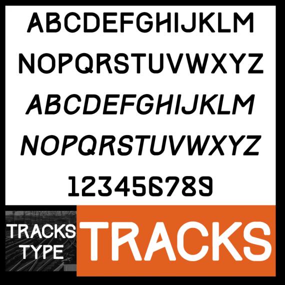 Tracks Font