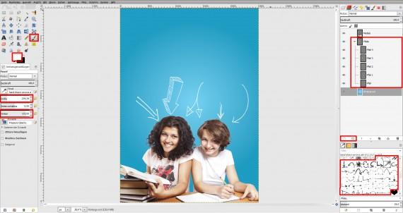 Tutorial Plakat Tag der offenen Tür Schule (12)