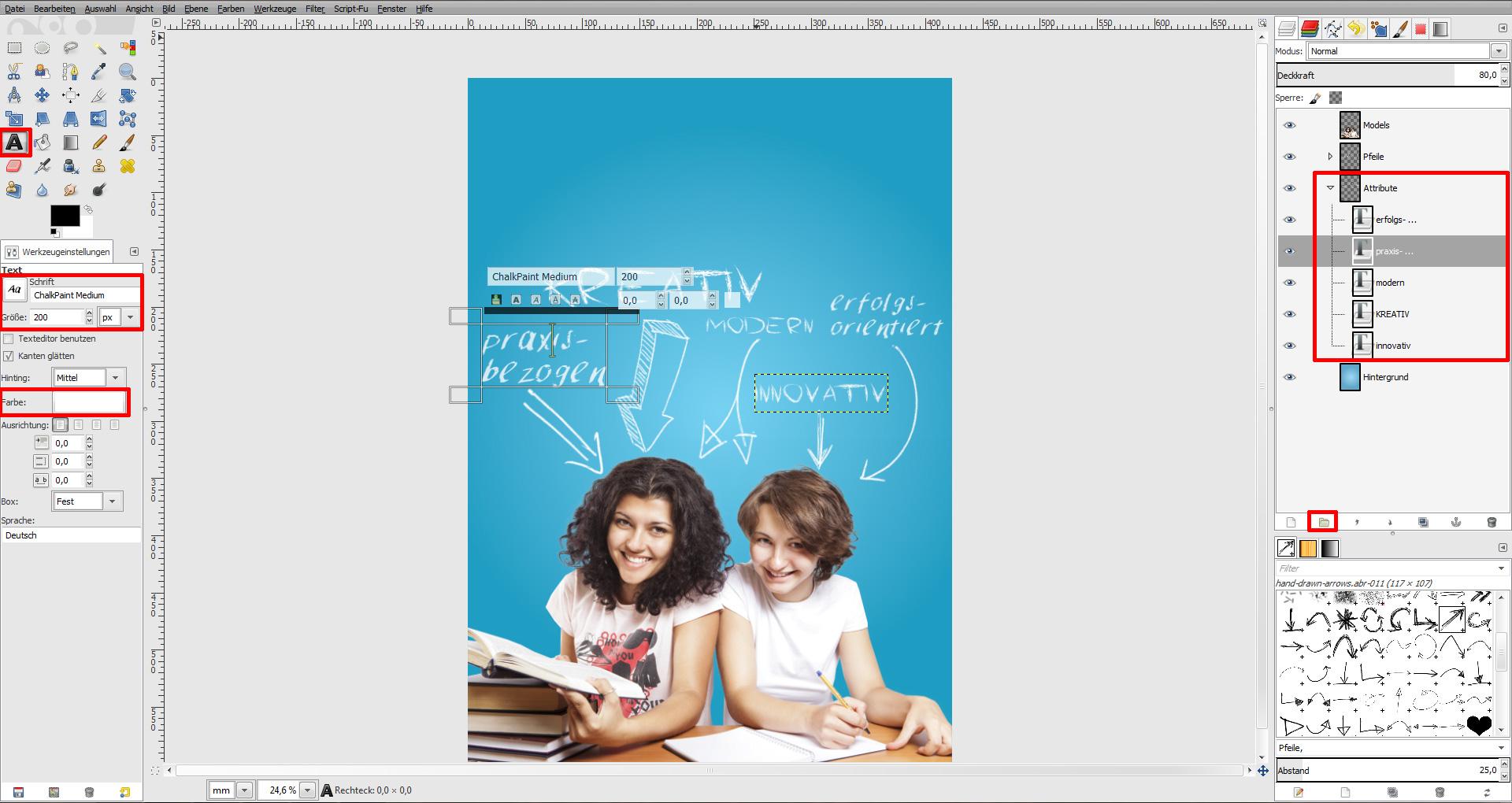 Tag der offenen tür schule  Tutorial: Plakat zum Tag der offenen Tür in der Schule » Saxoprint ...