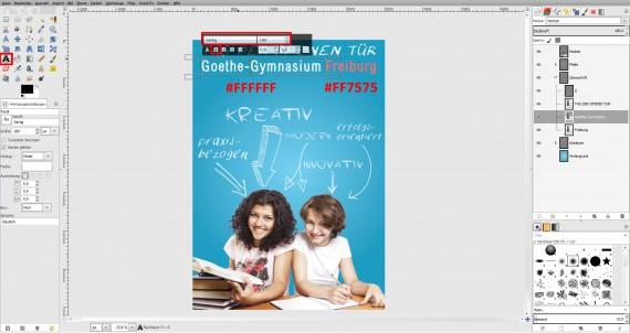 Tutorial Plakat Tag der offenen Tür Schule (17)