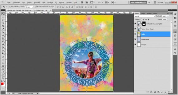 Tutorial Holi Festival Plakat (12)