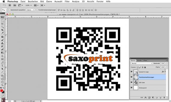 Das eigene Logo in einen QR-Code einbinden (7b)