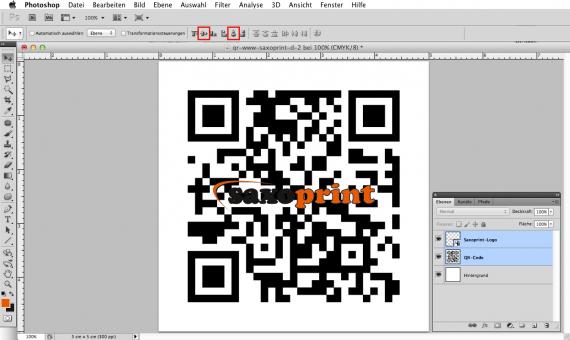 Das eigene Logo in einen QR-Code einbinden (5b)