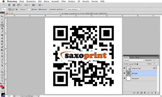 Das eigene Logo in einen QR-Code einbinden (7a)