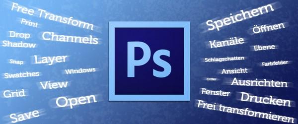 Englisch – Deutsch Übersetzung für Photoshop CS6