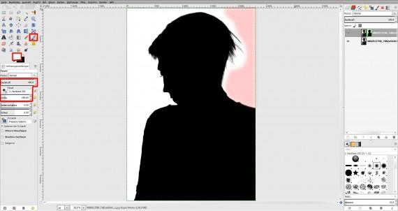 Tutorial Haare freistellen in GIMP (5)