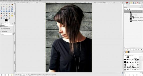 Tutorial Haare freistellen in GIMP (9)
