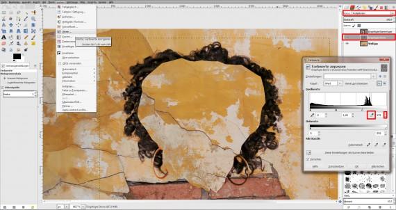 Tutorial Haare freistellen in GIMP (14)