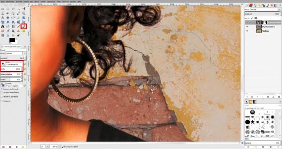 Tutorial Haare freistellen in GIMP (16)