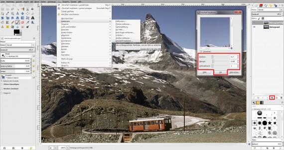 Tilt Shift GIMP (1)
