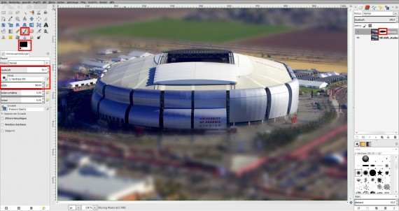 Tilt Shift GIMP (Toy-Plugin 3)