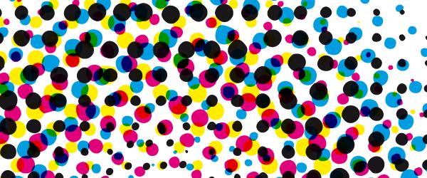 Farben über Farben im Vierfarbdruck