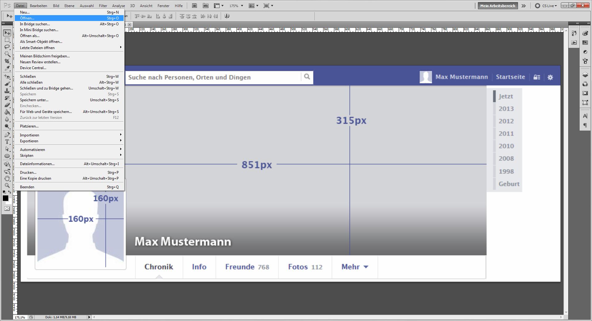 Tutorial: Kreativen Facebook-Profilbanner erstellen » Saxoprint Blog