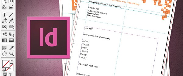 tutorial briefbogen im indesign cs6 erstellen - Briefbogen Muster