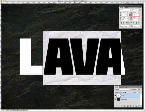 Lava Text Effect Photoshop (2)