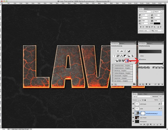 Lava Text Effect Photoshop (5)